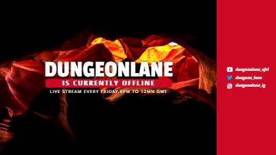 Twitch Offline Banner template