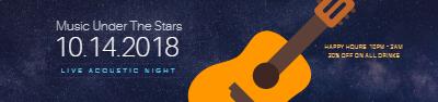 SoundCloud Banner template