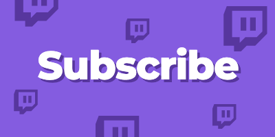 Twitch Panel template