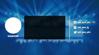 YouTube End Screen template